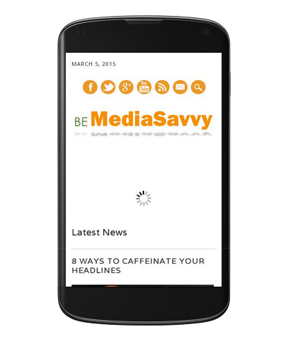 Be Media Savvy on mobile device