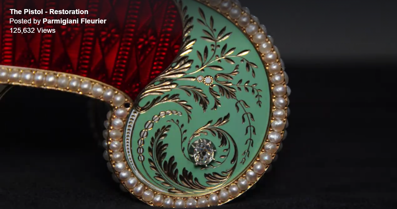 "Exquisite Video: Parmigiani Fleurier, ""The Pistol"""