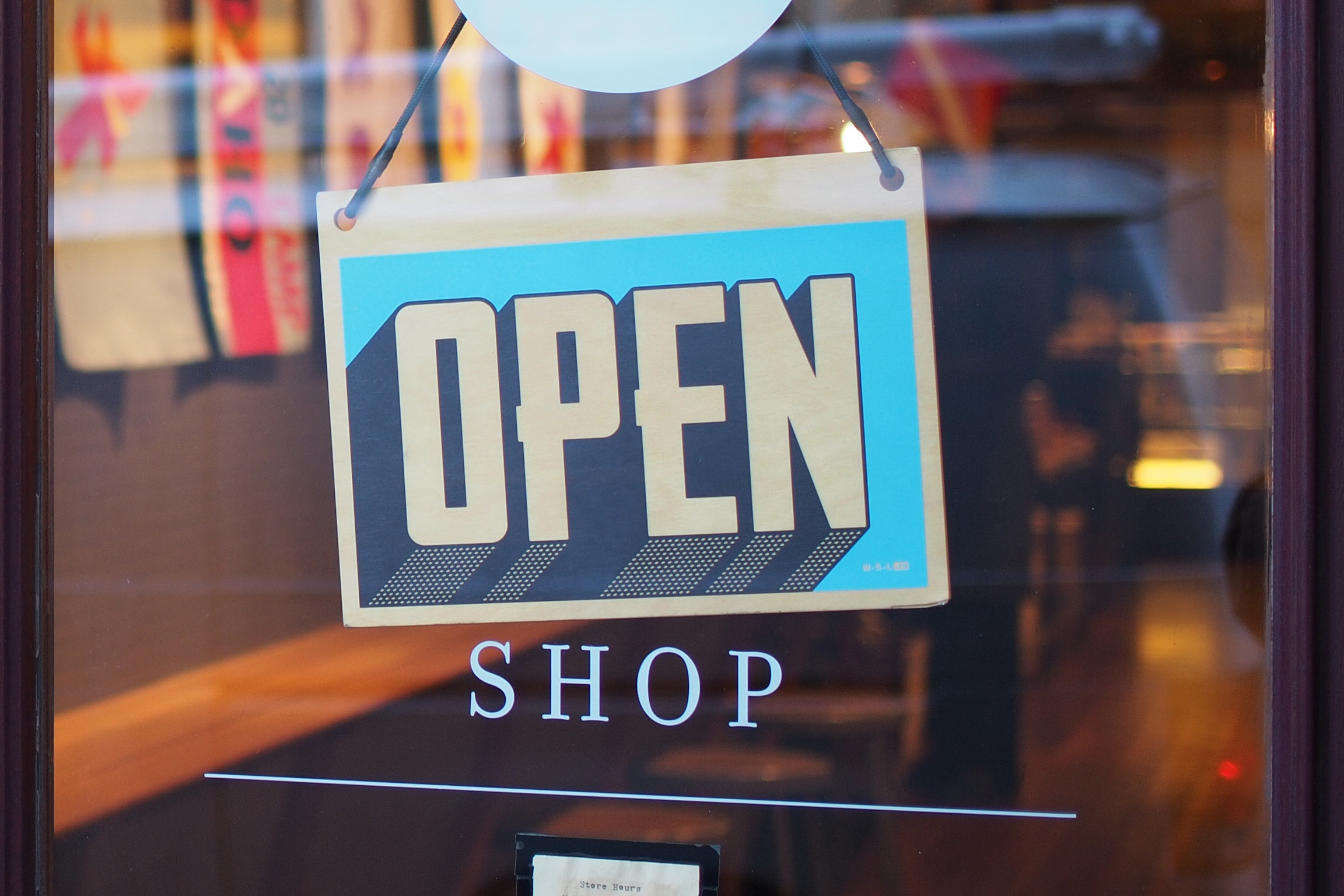 Open Sign Business