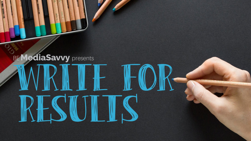 Write for Results Workshop